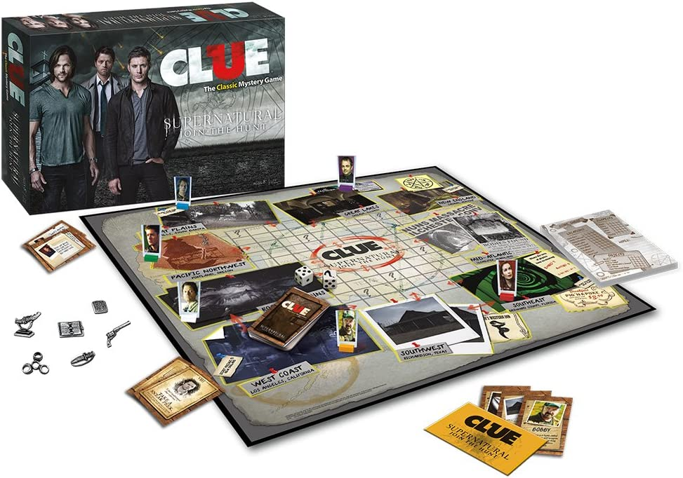 Clue: Supernatural Collectors Edition: USAopoly: Amazon.es: Juguetes y juegos