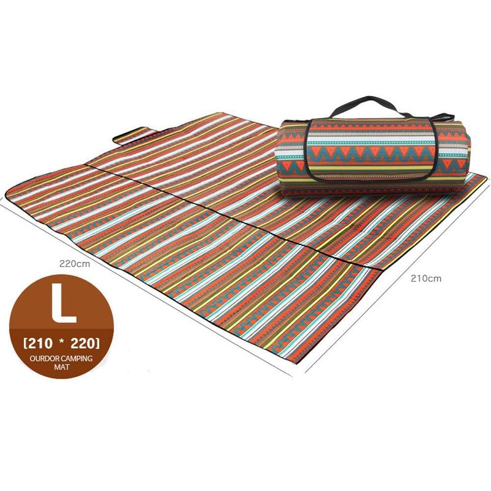 Feuchtigkeit Feuchtigkeit Feuchtigkeit Beständig Wasserdicht Oxford Oxford Picnic Pad Decke Camping Matte B073DYXF4V | Bekannt für seine schöne Qualität  4121f7