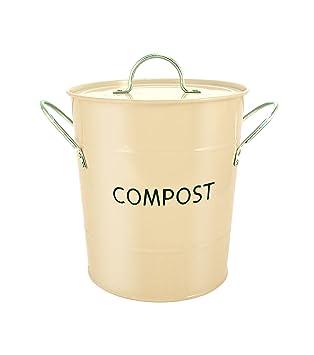 Eddingtons Komposteimer, Buttercream: Amazon.de: Küche & Haushalt