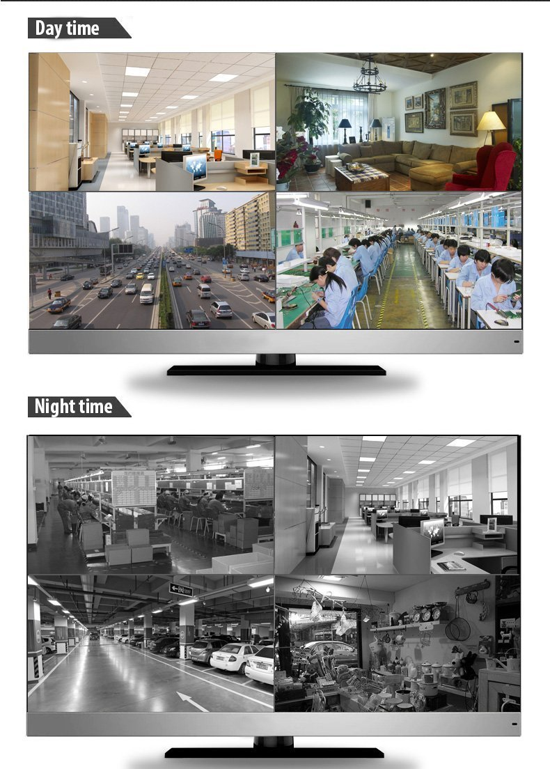 GW Security VDW32CH24C37HD 32 Channel DVR with 1200TVL Weatherproof CCTV Surveillance Security Camera System