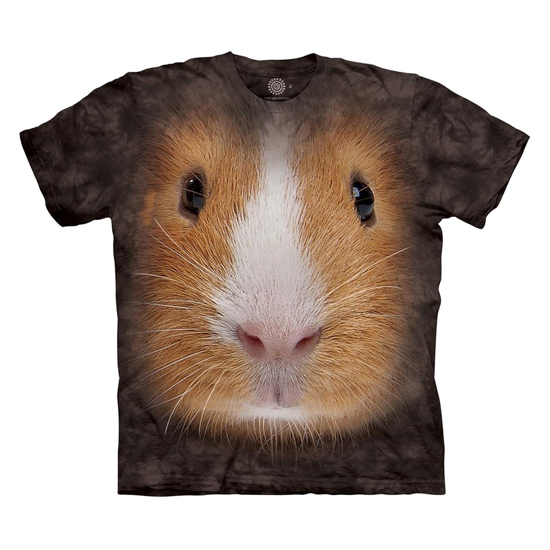 Amazon.com: The Mountain Men\'s Guinea Pig Face T-Shirt: Clothing