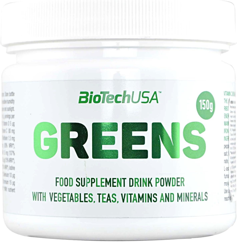 Biotech USA GreenS Vitaminas y Minerales - 150 gr: Amazon.es ...