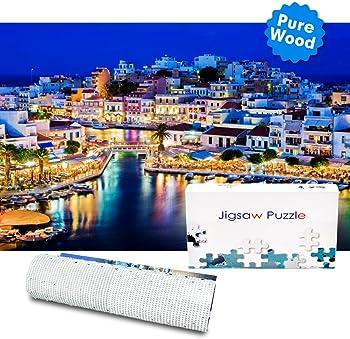 1000-Piece Bable Crete Night Sight Jigsaw Puzzles