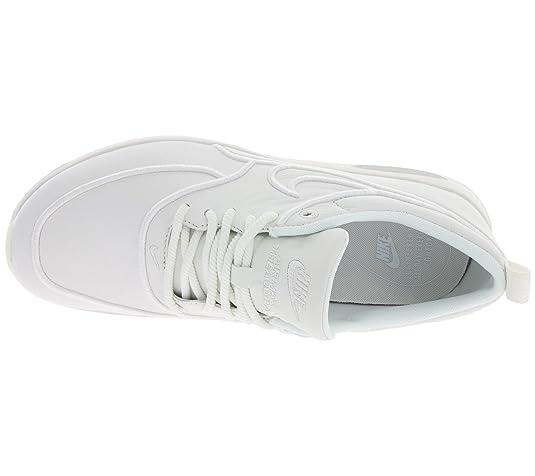 NIKE W Air Max Thea Ultra SI Baskets femme en cuir blanc 881119 100, Taille:36.5