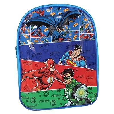 DC Justice League - Mochila escolar La Joven Liga de la Justicia Linterna Verde Superman Batman (9815029HV): Equipaje