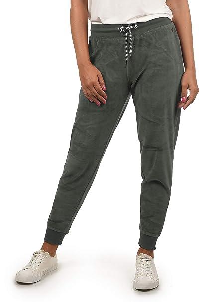 DESIRES Nikita Damen Sweathose Velours-Sweatpants Relaxhose Regular- Fit