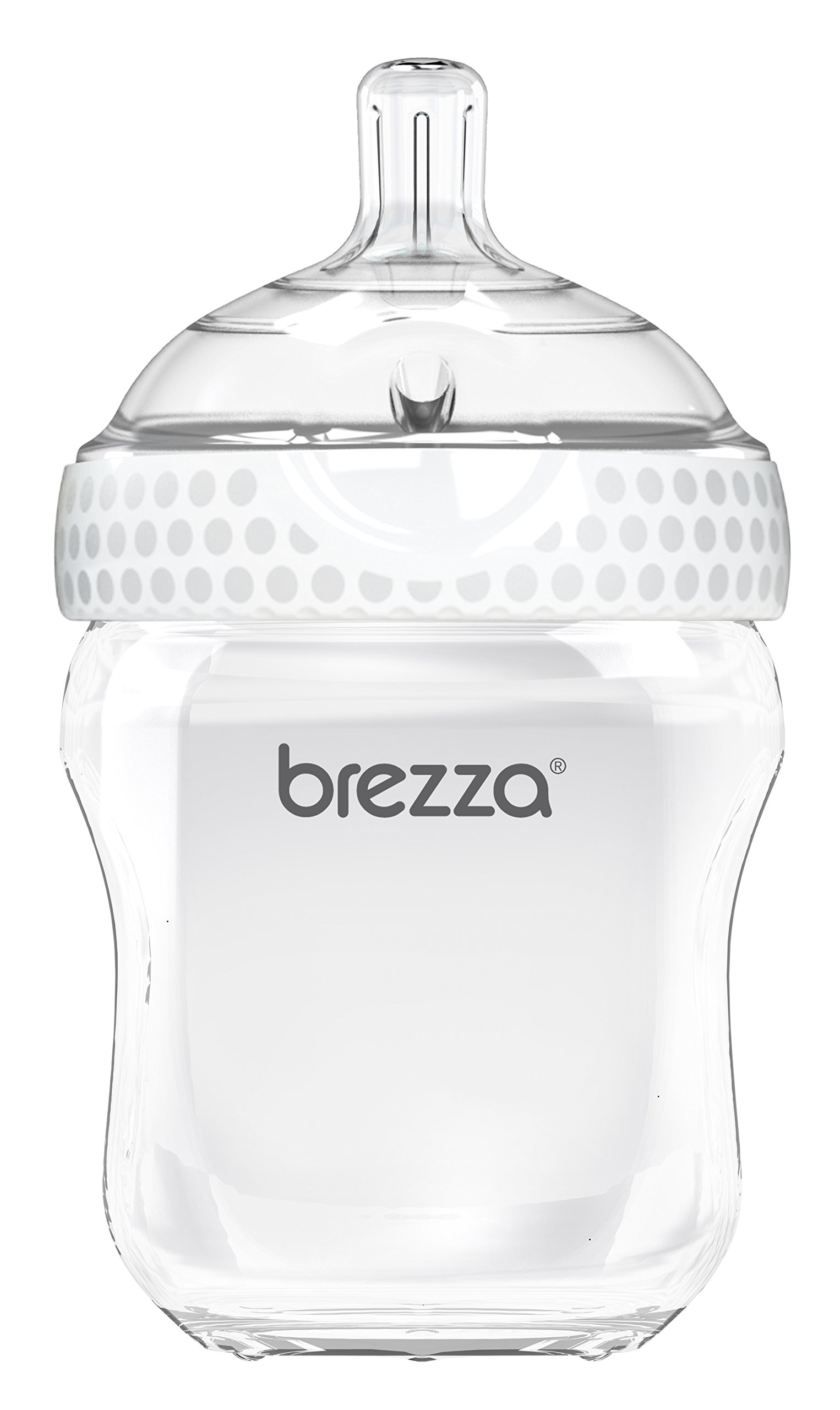 295a14b6265c Amazon.com   Baby Brezza Two Piece Natural Baby Bottle with Lid ...