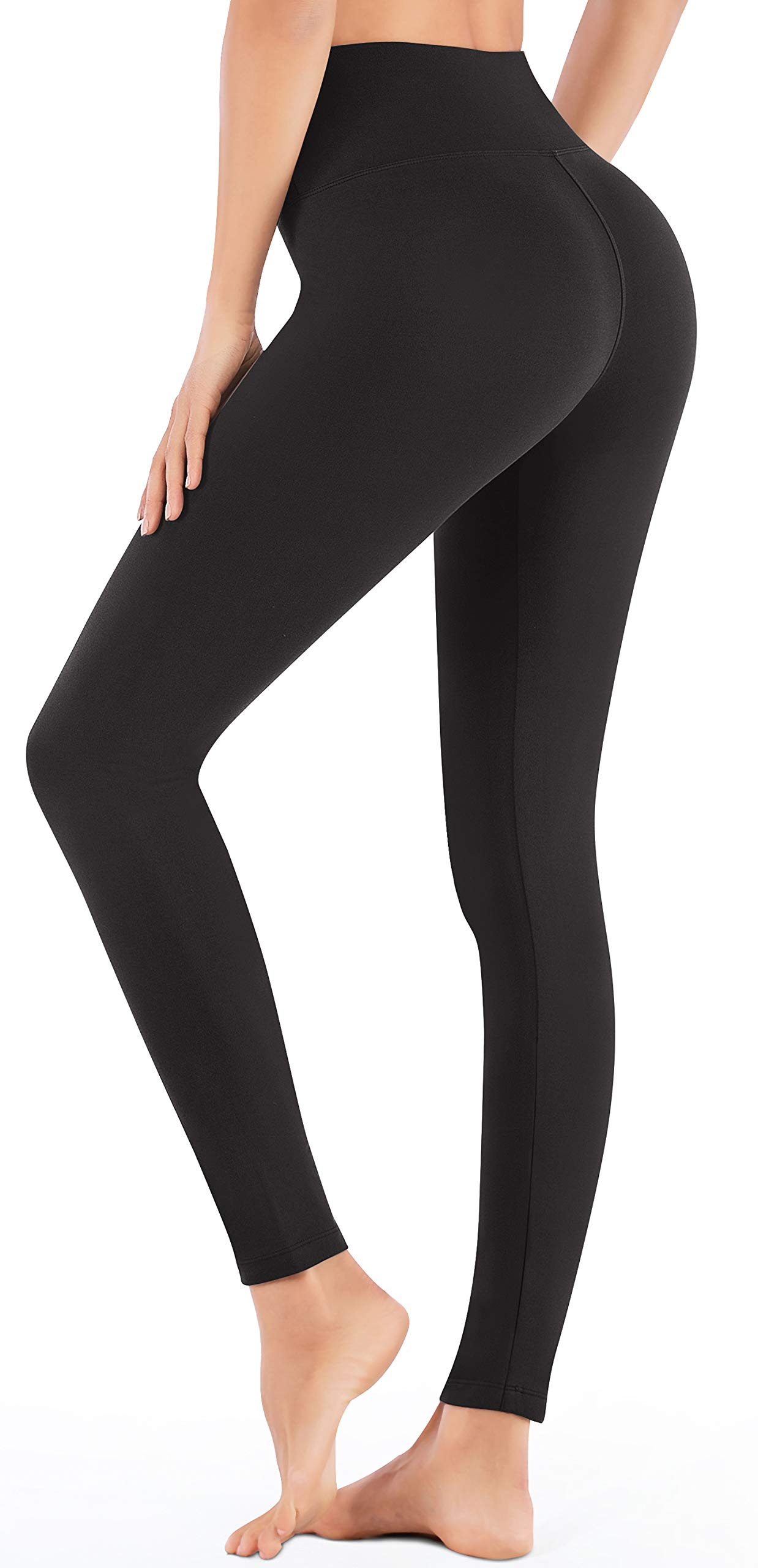 IUGA High Waisted Leggings with Inner Pocket, Non See-Through Workout Stretch Leggings for Women