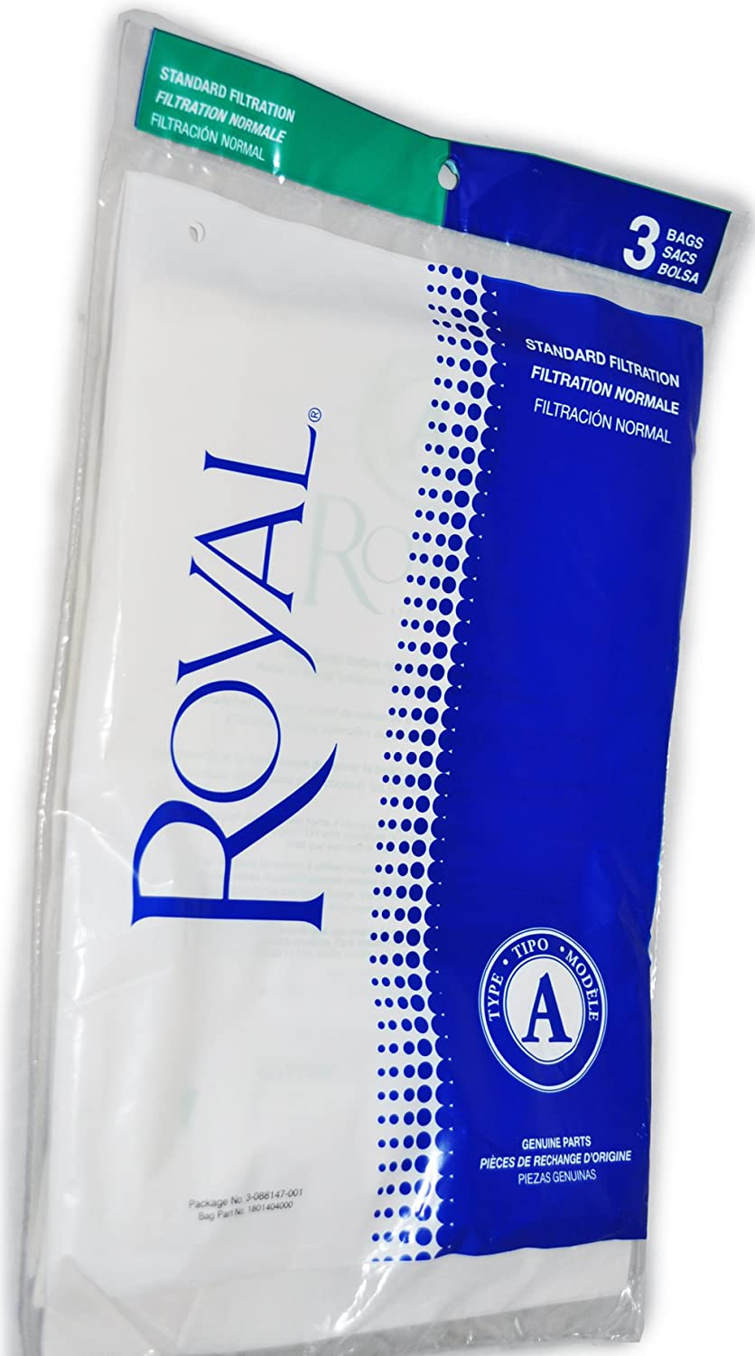 Royal Type A Metal Upright Vacuum Cleaner Bags RO-088147