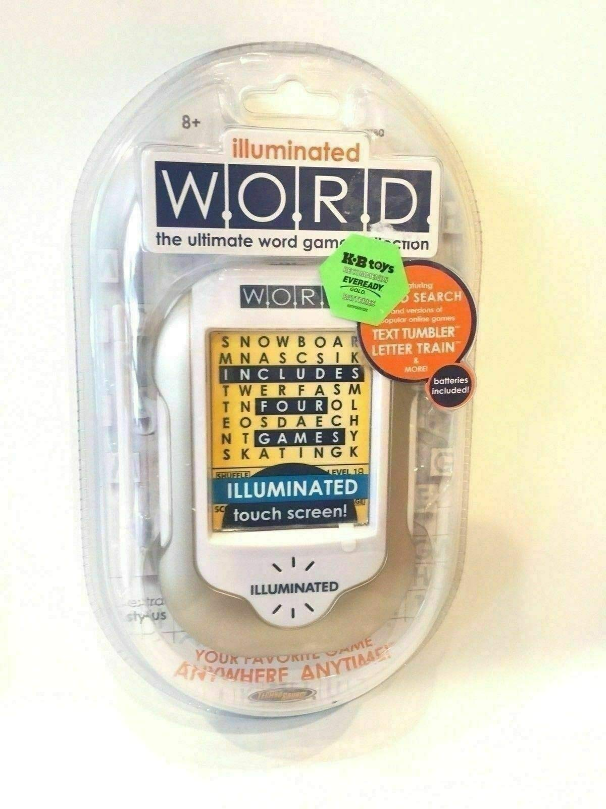 Illuminated Word The Ultimate Word Game Collection Rare Pocket Travel Stylus NEW by Generic (Image #1)
