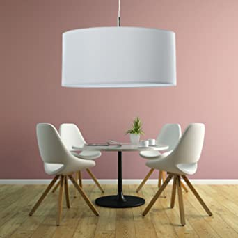 Klassische Hangelampe Hochwertige Hangeleuchte Lampe Weiss