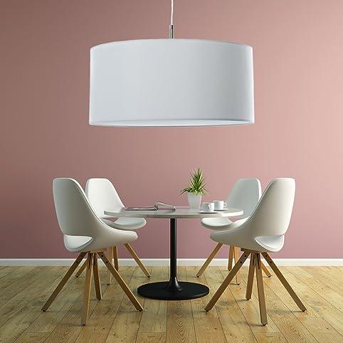 Pendelleuchten für wohnzimmer  Klassische Hängelampe | Hochwertige Hängeleuchte | Lampe | Weiß ...