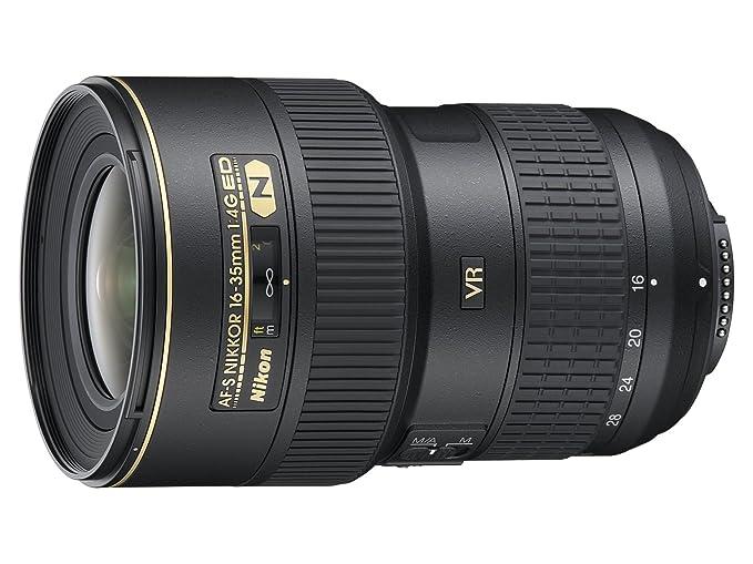 Nikon Obiettivo Nikkor AF-S 16-35 mm f/4G ED VR II, Nero [Nital Card: 4 Anni di Garanzia]