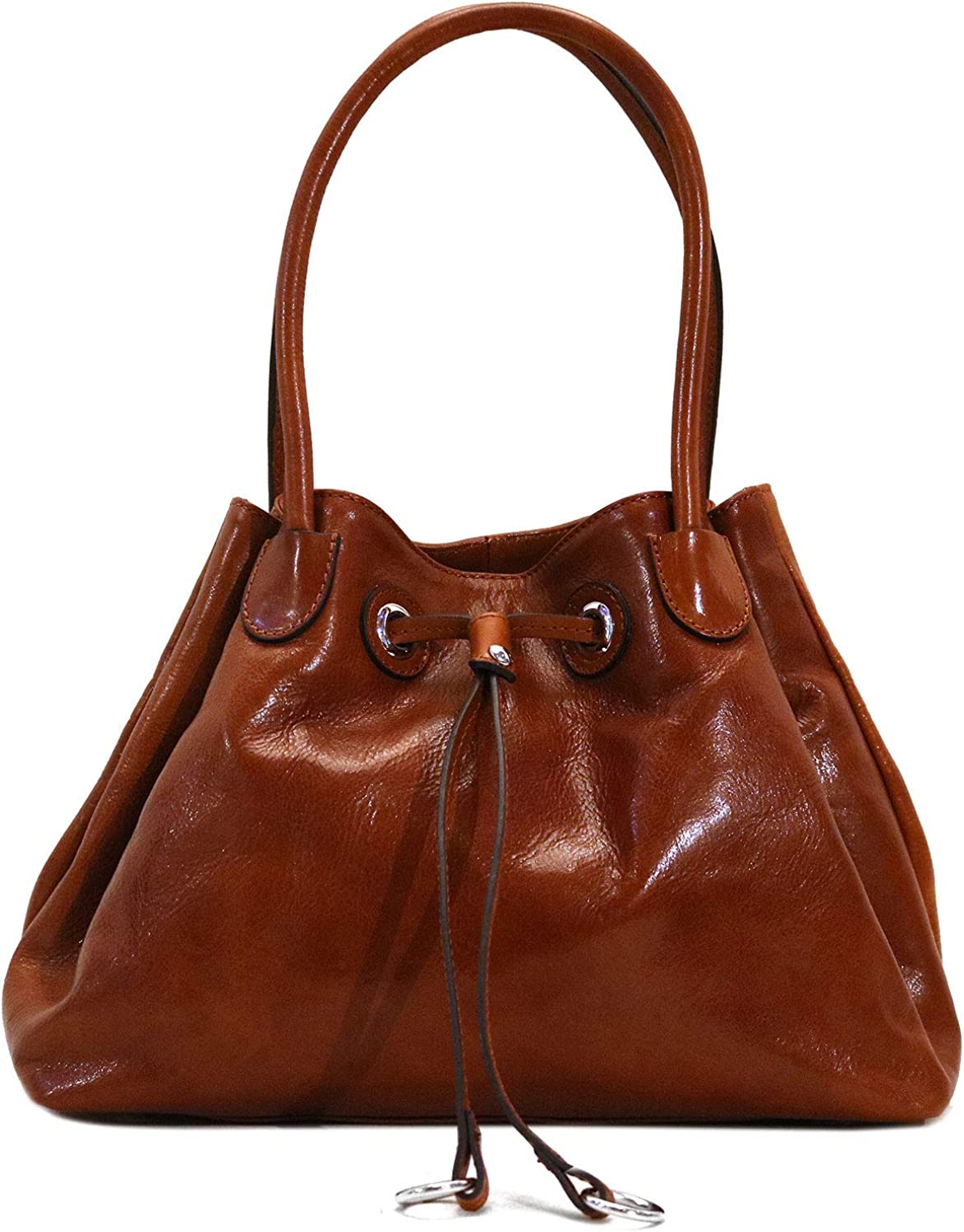 Floto Sorrento Shoulder Bag Hobo Handbag Women's Leather Bag