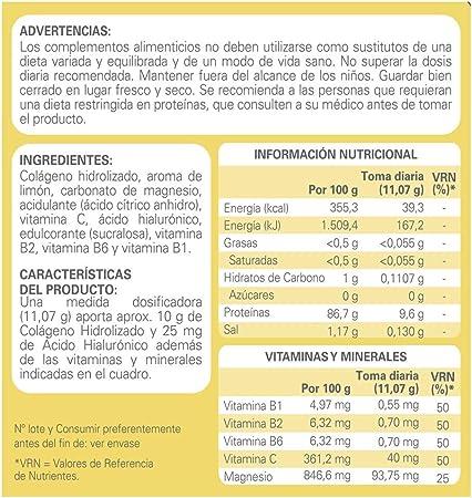 Epaplus Colágeno + Ácido Hialurónico y Magnesio- 30 Días (332 ...