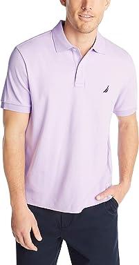 4d71f1d4 Nautica Men's Classic Fit Short Sleeve Solid Soft Cotton Polo Shirt