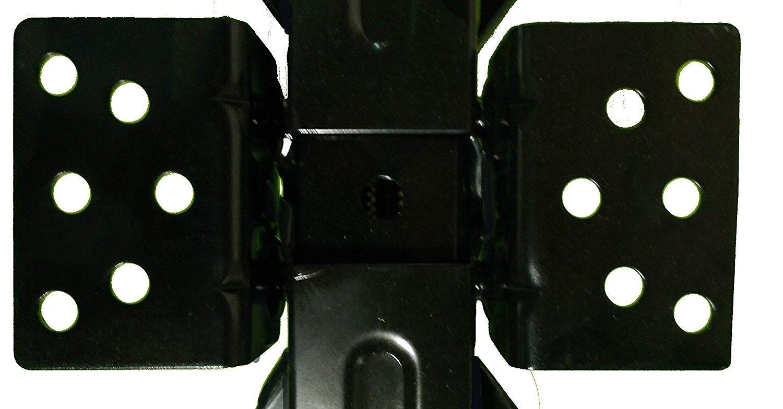 SET OF 2-2 1//4 TON RV STABILIZER SCISSOR JACKS LOW PROFILE GRADE 8 SCREW DRIVE UNIVERSAL BOLT PLATE 36450