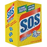S.O.S 98014 Steel Wool Soap Pad, (1 Pack (50 Count))