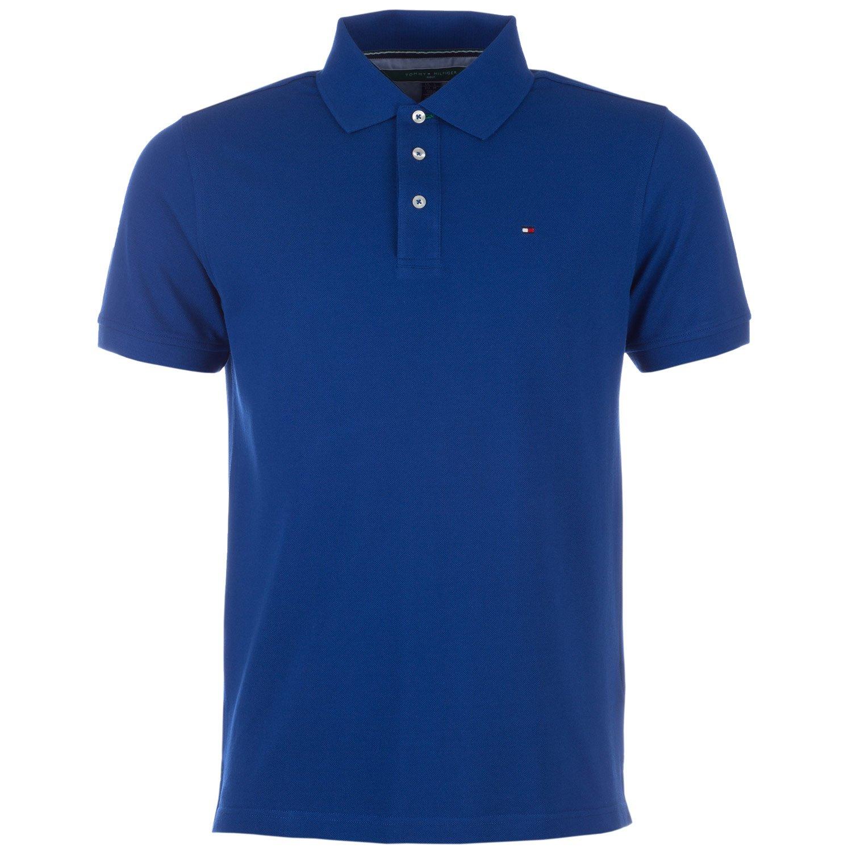 Tommy Hilfiger Mens Royal Blue Cotton Golf Polo Shirt Medium ...