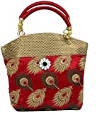 Kuber Industries Women's Handbag ( Maroon,PAR007605)
