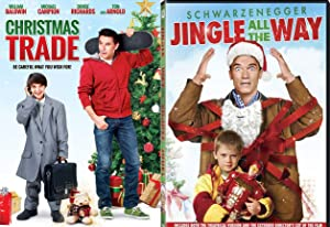 Trade Christmas 2-Movie Holiday DVD Jingle All The Way + Christmas Trade Family Fun Double Feature Bundle Modern Classics