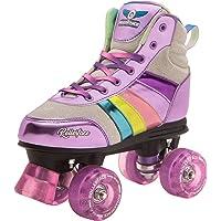 Rollerface HipSkates Glitter: Patines 4 Ruedas Estilo Roller