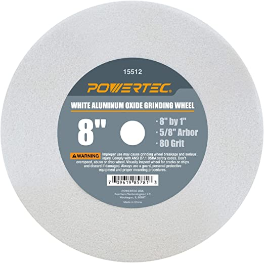 Vitrified with 1-Inch Arbor Forney 72402 Bench Grinding Wheel 6-Inch 80-Grit