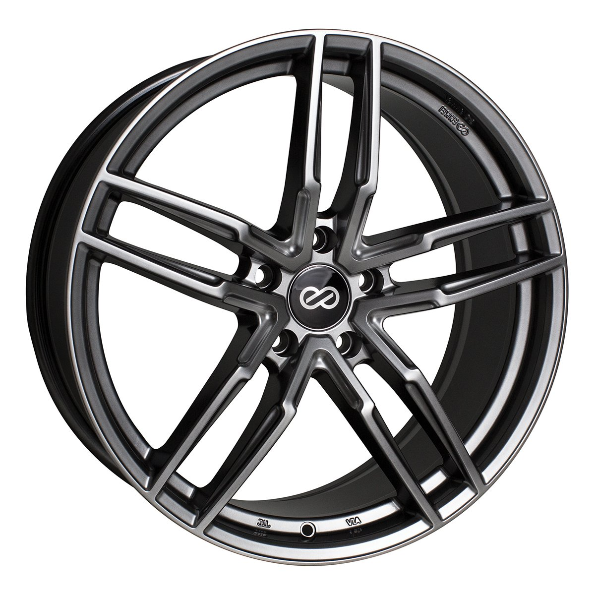 17'' Enkei SS05 Performance Wheel Rim Gray 17x7.5 5x114.3 +40 511-775-6540GR