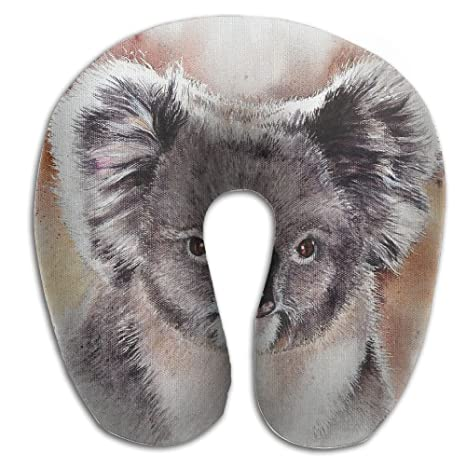 Cómoda almohada de viaje almohada cervical Koala Art ...