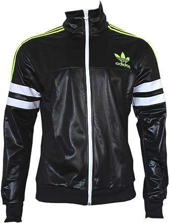 adidas originali m cile 62 tt2 slim giacca nera g90074, dimensioni: 1