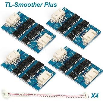 4pcs Filtro de accesorios de impresora 3D Módulo adicional TL-Smoother Plus para Eliminación de patrones Filtro de motor Filtro de recorte ...
