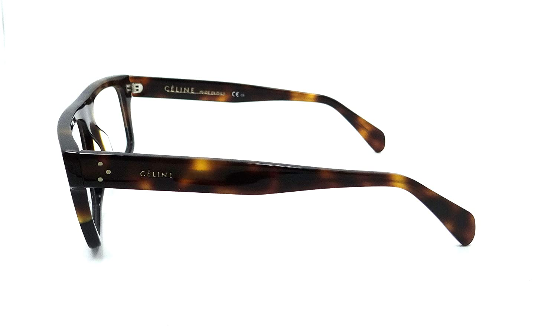 be50e335eb6 Celine Rx Eyeglasses Frames CL 41331 AEA 52-15-150 Havana Black Havana Italy   Amazon.ca  Clothing   Accessories