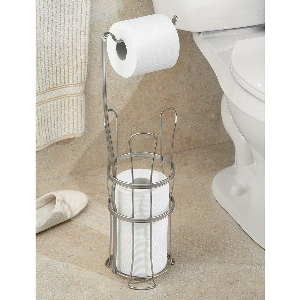 2 Roll Storage for Bathroom InterDesign York Lyra Over Tank Toilet Paper Holder Bronze