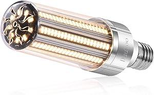 DuuToo 25W Super Bright Corn LED Light Bulb(250 Watt Equivalent) - 3000K Warm White 3000 Lumens - E26/E39 Mogul Base LED Bulb for Large Area Commercial Ceiling Light - Garage Warehouse Porch Yard