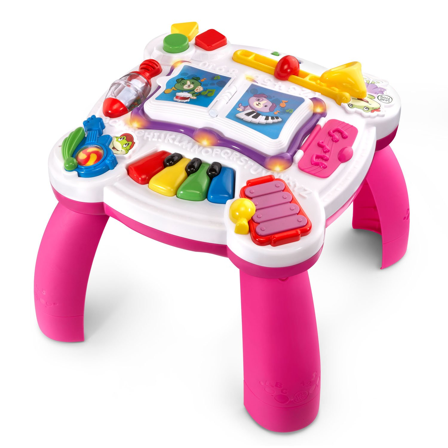 LeapFrog Learn and Groove Musical Table Activity Center Amazon Exclusive, Pink by LeapFrog