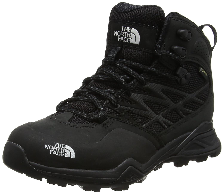 The North Face Hedgehog Hike Mid Gore-tex, Chaussures de Randonnée Hautes Femme Noir (Tnf noir Tnf noir) 36 EU