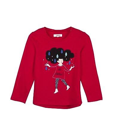 31c2c8feb48ad Catimini T-Shirt manches longues CM10175, Fille, Rouge (Vermilion 36), 6  ans (Taille fabricant:6A): Amazon.fr: Vêtements et accessoires