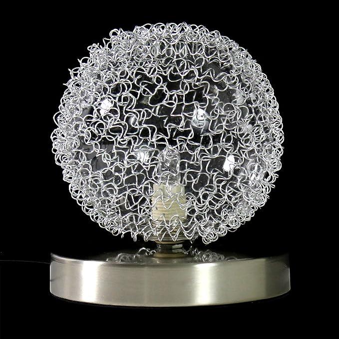lux.pro] Tischlampe - Sphera - (16cm x Ø 14cm)(1 x G9 Sockel ...