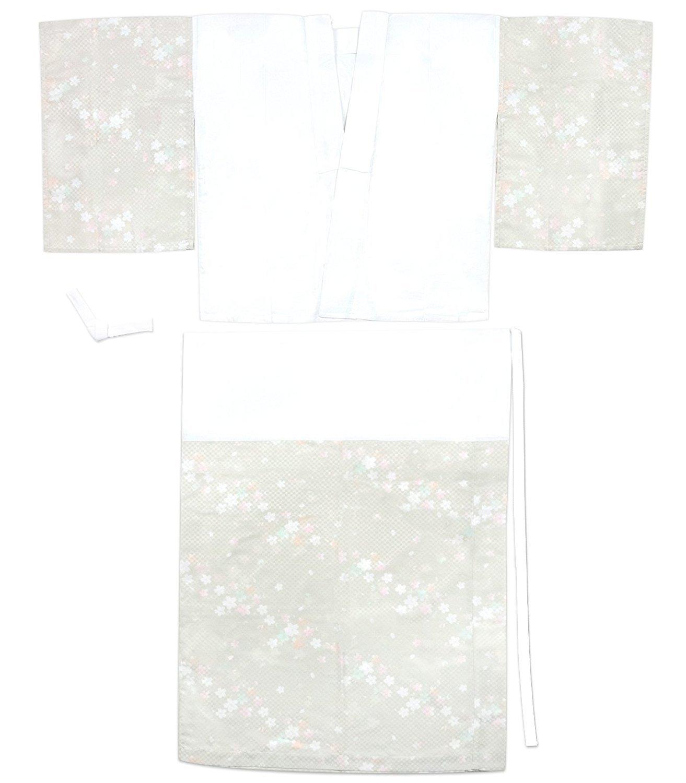 KYOETSU Women's Japanese Kimono Two part Underwear Yuzen Juban Washable (Large, D-2)