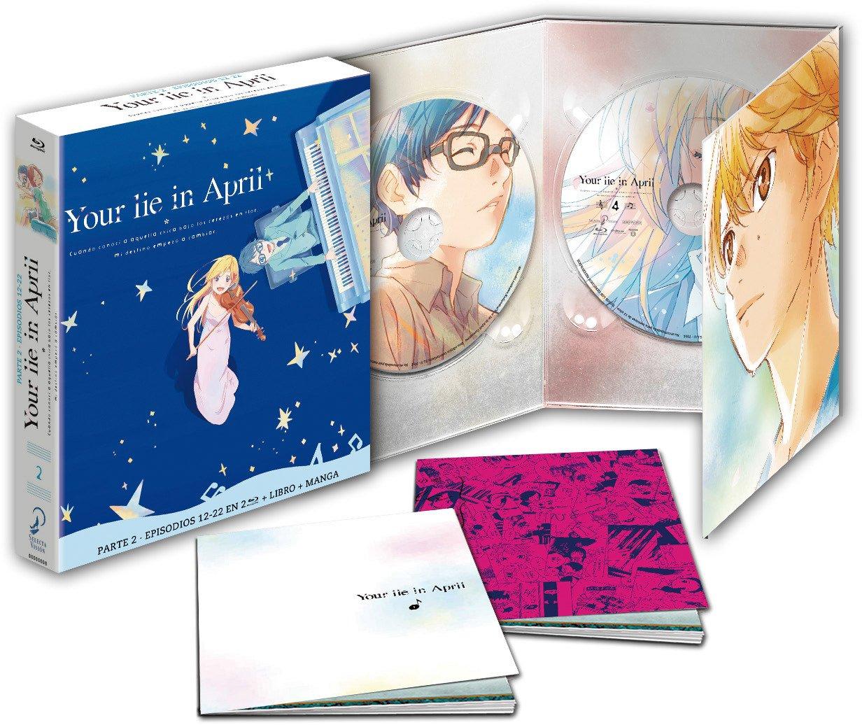 Your Lie In April P2. Ep 12-22 Blu-Ray Edición Coleccionista [Blu-ray]