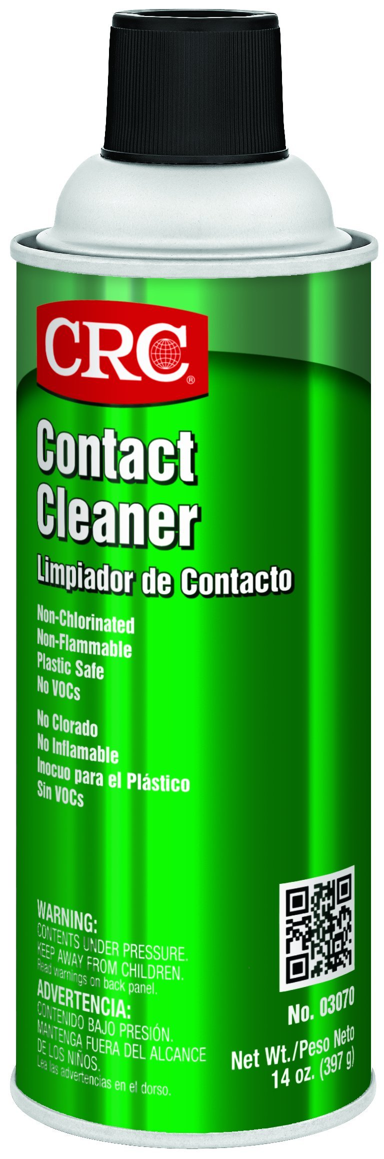 CRC Contact Cleaner, 14 oz Aerosol Can