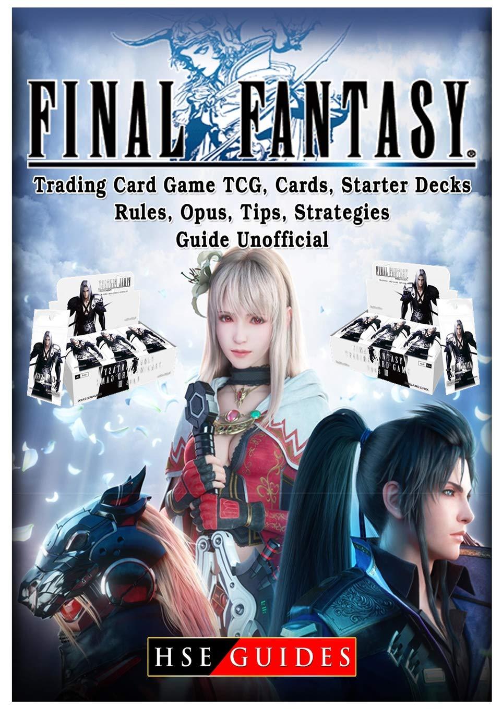 Final Fantasy Trading Card Game TCG, Cards, Starter Decks ...