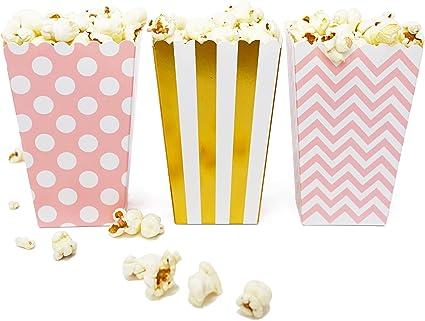 Amazon.com: Mini palomitas de maíz y caramelos cajas de ...