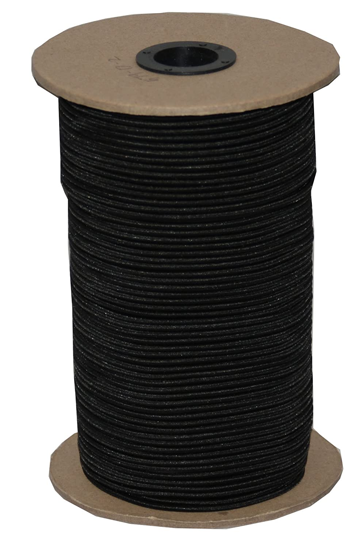 T.W . Evans Cordage SC-104300B 1/4-Inch by 300-Feet Elastic Bungee Shock Cord, Black by T.W . Evans Cordage Co.  B00DKA4TO0