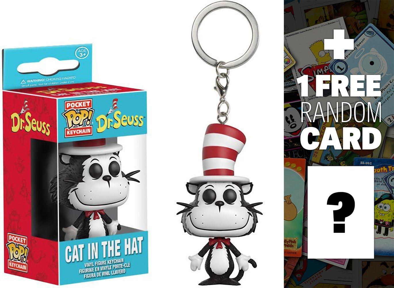 Funko Gato en el Sombrero: Pocket Pop! x Dr. Seuss Mini