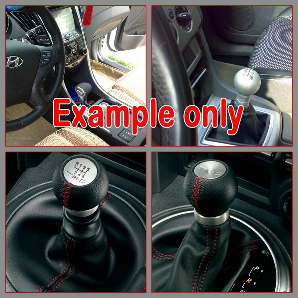 Wonder Goal 5 Speed TRD Gear Shift Knob for Toyota Manual Transmission Car with Car Cleaning Cloth by Wonder Goal
