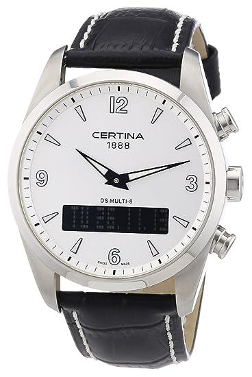 Certina Multi 8 C020.419.16.037.00 - Reloj analógico - digital de cuarzo para