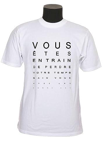 tee shirt humour personnalisé ou non avec