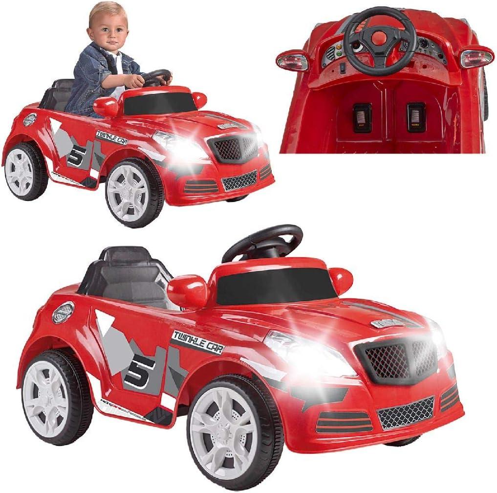 FEBER - Twincle Car R/C, coche eléctrico con radio control, para niños y niñas de 3 a 6 años (Famosa 800012263)
