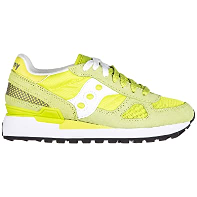 best sneakers 0a235 b276f Amazon.com | Saucony Women Shadow o' Sneakers Green/White ...